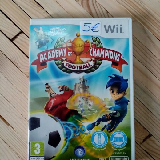 Juego Wii Academy of Champions Football