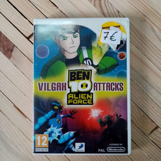 Juego Wii Ben 10 Alien Force: Vilgax Attacks