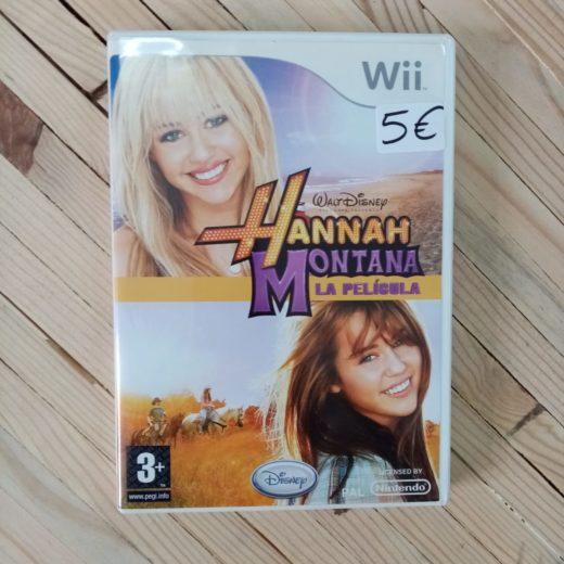 Juego Wii Hannah Montana La película