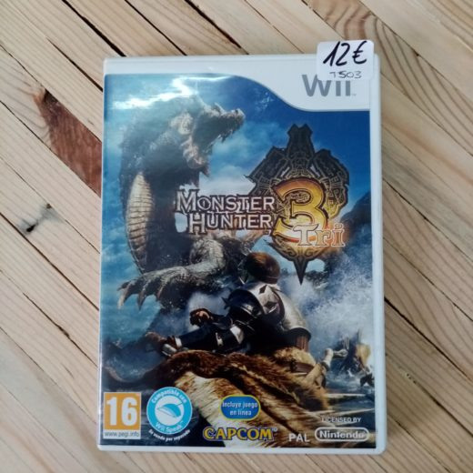 Juego Wii Monster Hunter Tri 3