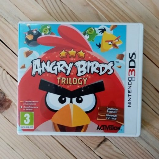 Juego Nintendo 3DS Angry Birds Trilogy