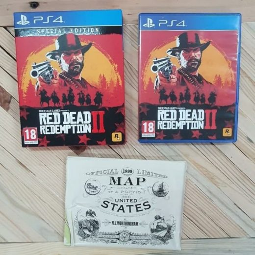 Juego PS4 Red Dead Redemption II Special Edition