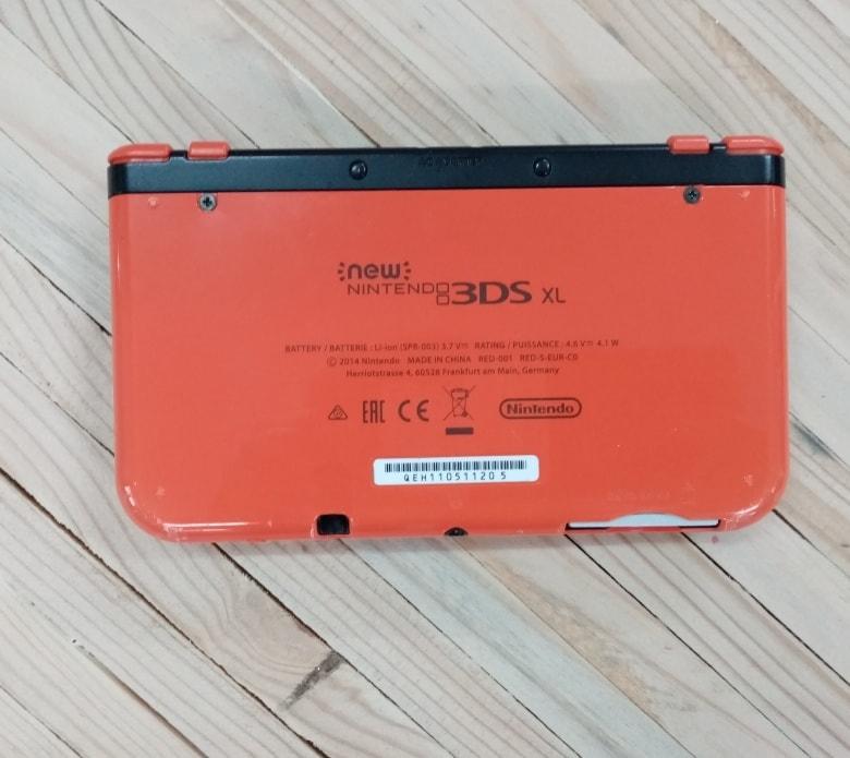NEW Nintendo 3DS XL consola abajo