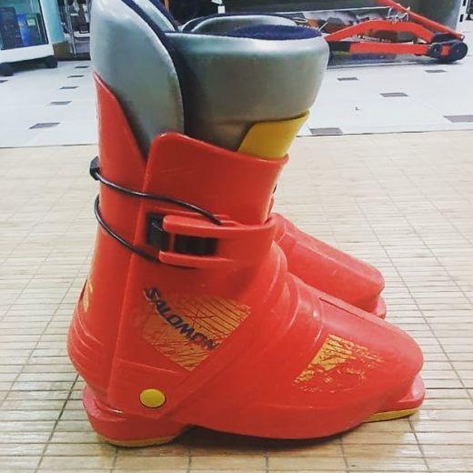 Botas rojas de Esquí SALOMON