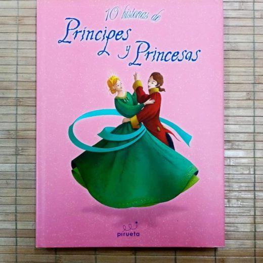 Libros 10 Historias de Príncipes y Princesas