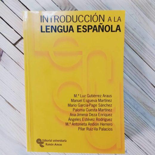 Libro Introducción a la Lengua Española