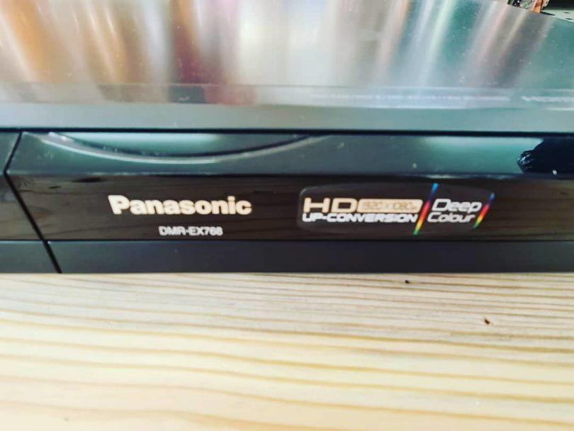 DVD Grabador con Disco Duro 160GB PANASONIC DMREX768E