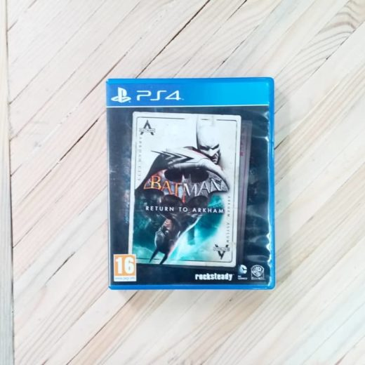 Juego PS4 Batman Return To Arkham