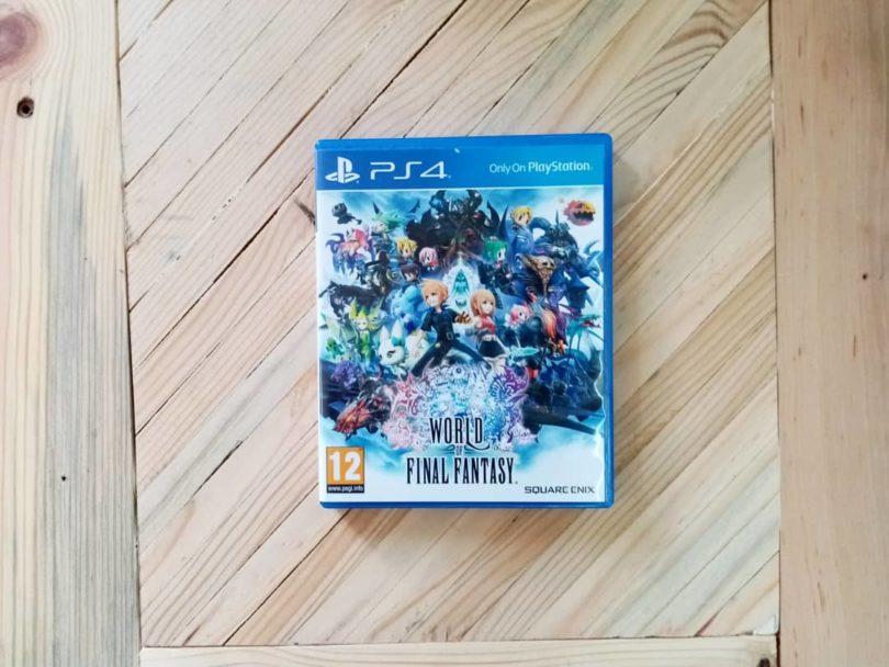 Juego Ps4 World Of Final Fantasy