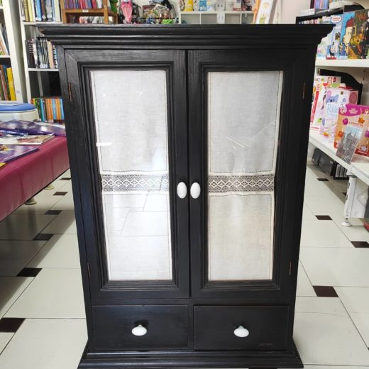 Mueble de Madera Negro