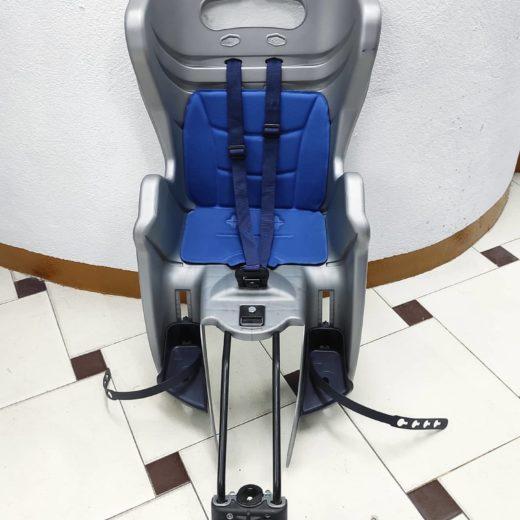 Silla Portabebés para Bici Azul