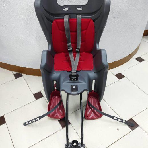 Silla Portabebés para Bici Roja