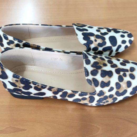 Mocasines leopardo Pinkai