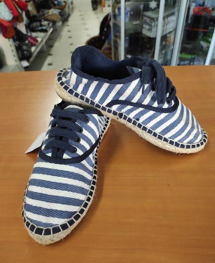 Zapatillas Tela y Esparto Zara