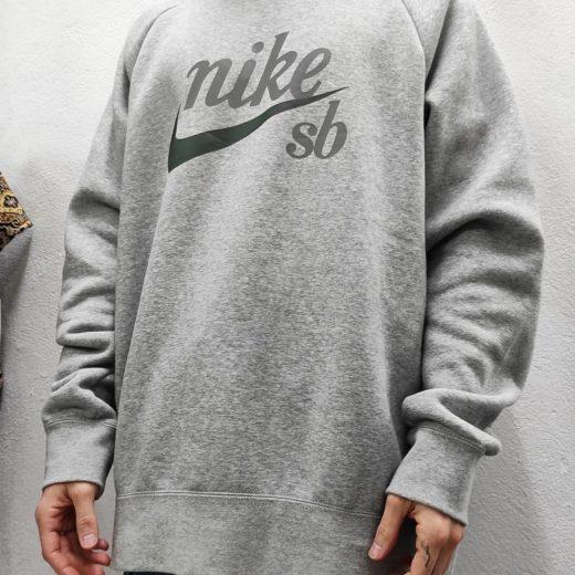 Sudadera Gris Nike Hombre