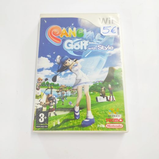 Juego Wii Pangya Golf With Style
