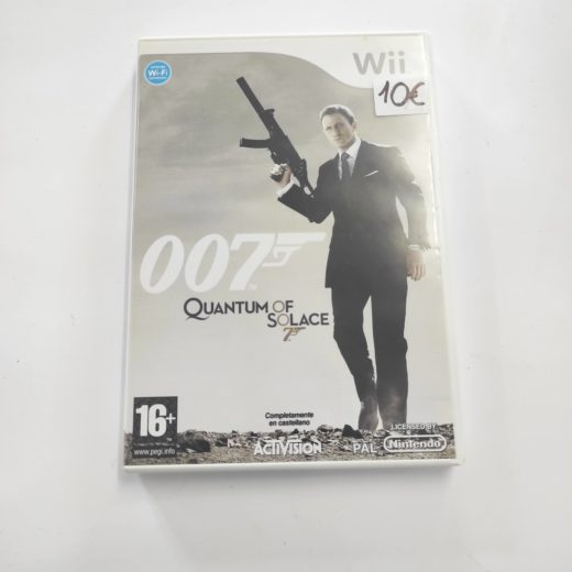Juego Wii 007 Quantum Of Solace