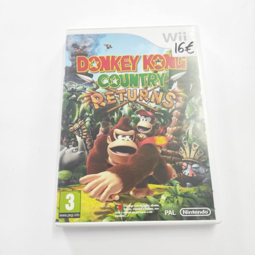 Juego Wii Donkey Kong Country Returns