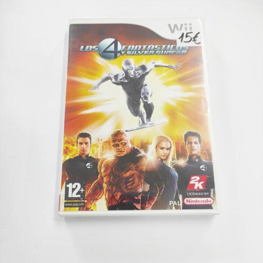 Juego Wii Los 4 Fantásticos y Silver Surfer