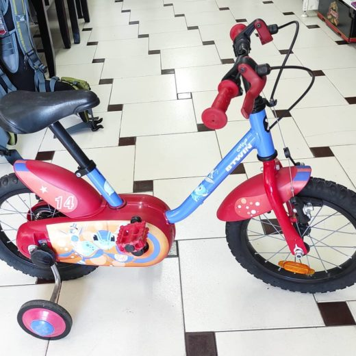 "Bicicleta Btwin Calipso 14"""