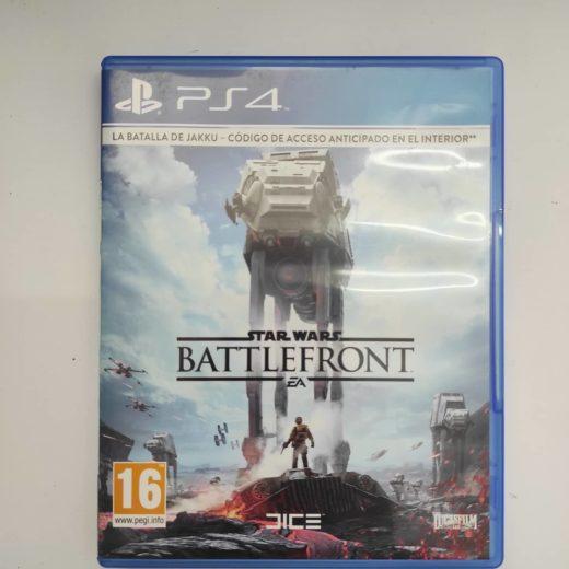 Juego PS4 Batlefront Star Wars