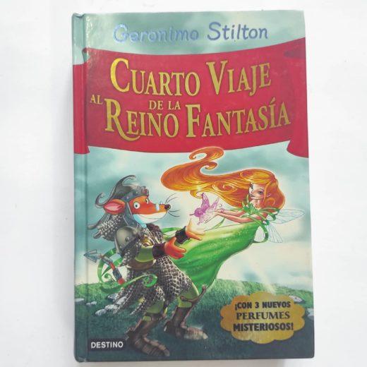Libro Geronimo Stilton Cuarto Viaje al Reino de la Fantasía
