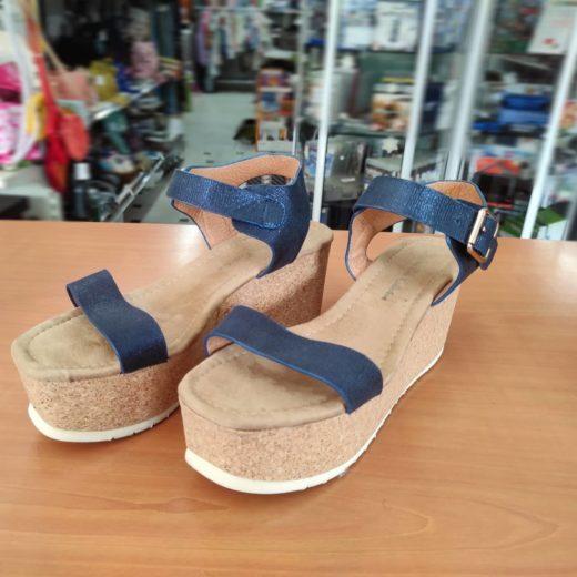 Sandalias Cuña Azules